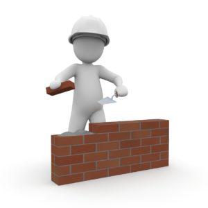 maurer, construction workers, housebuilding